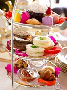 Sandwiches and high tea idea