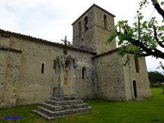 Eglise ND-de-Beauvert à Ste-Jalle