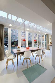 aluminium profielen veranda strakke veranda moderne. Black Bedroom Furniture Sets. Home Design Ideas