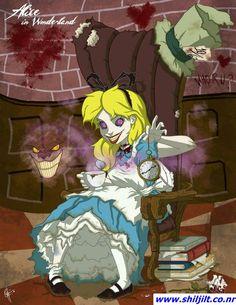 """Princesas """"demoníacas"""" Disney - Alicia"""