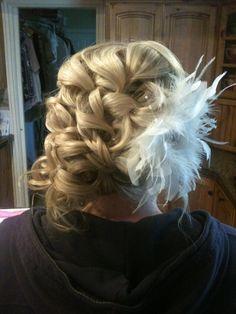 Detailed updo #signaturebrides lindsayleehair.blogspot.com