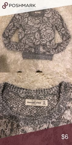 Final sale ABERCROMBIE FITCH Sweater xs Abercrombie & Fitch Tops Tees - Long Sleeve