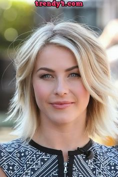 Julianne Hough's sexy shag hairstyle 2014