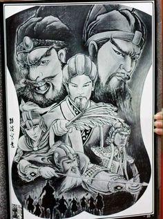 Full Tattoo, Back Tattoo, Susanoo, Dynasty Warriors, Lunges, Samurai, Oriental, Tattoo Designs, Tattoo Studio