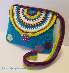 Little Girl Crochet Purse, Crochet purse,  Crochet Cotton Purse, Handmade Bag, Gift for girl - MADE TO ORDER