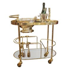 Art Deco Champagne Bar Cart by Pommery--Red Lipstick Divas Top Fabulous Favorites List!