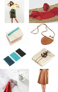 Leather finds by decoratore on Etsy--Pinned+with+TreasuryPin.com