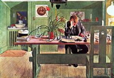 Carl Larsson -  The Oldest Son