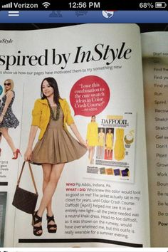 easyoutfitsbypip.blogspot.com Pip is featured here in In Style magazine. She has many fashion ideas on her website. Check her website out and follow her!
