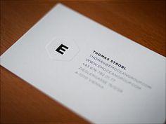 20 Minimal Designed Business Cards - UltraLinx