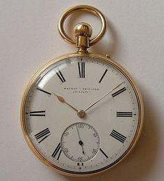 Antiques Atlas - 18CT Gold Pocket Watch Mackay & Chisholm Edinburgh