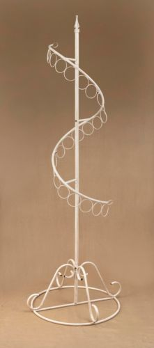 "72"" Spiral Scarf Display Tree"