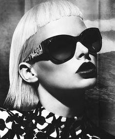 Versace Fashion Eyewear Fall-Winter 2012-2013 Campaign