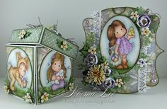 From My Craft Room: Easter 2-Tier Gift Box and Card - Magnolia-licious Easter Blog Hop