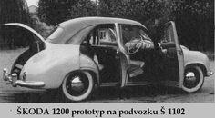 mototechna | Galerie ŠKODA prototypy Tudor, 4x4, Antique Cars, Nice, Vehicles, Automobile, Vintage Cars, Rolling Stock, Nice France