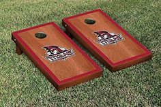 Indiana South Bend Titans Cornhole Game Set Rosewood Stained Border Version >>> You can find more details by visiting the image link.
