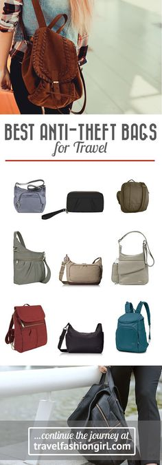 Safety is always a concern when traveling. So, we've rounded up the best anti-theft travel bags for women based on the top picks from TFG readers. Read on to learn which travel purse is their favorite! http://travelfashiongirl.com/top-5-anti-theft-travel-bags-for-women-best-sellers/ via @travlfashngirl #packing #tips #travel