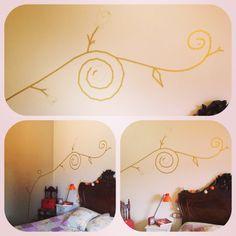 Decoración habitación con Masking Tape By Latormento (Eva Montero)
