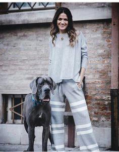 Buona serata amici :-) #stefanel #stefanelvigevano #look #moda #trendy #shopping #negozio #shop #vigevano #lomellina #piazzaducale #model #models #foto #photo #instagram #instalook #outfit #abbigliamento #wool #pants #pantalone #dog #riga #sweater