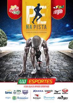 PE na PISTA - Etapa LW Esportes Arcoverde on Behance