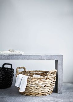 IKEA limited edition | Basket | Neutrals | Greys | Interior | Inspiration