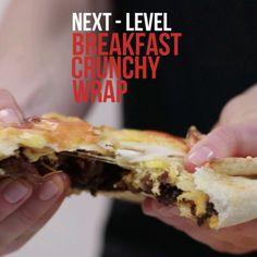 Next-Level: Breakfast Crunchy Wrap