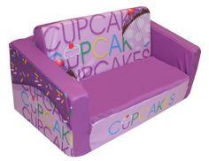 Newco Kids Flip Sofa, Cupcake Lavender (bestseller)