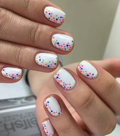 Cute Nail Art Designs for Short Nails 2019 - Nail Design - Nageldesign Cute Nail Art Designs, Short Nail Designs, Nail Design For Short Nails, Nail Designs For Kids, Simple Nail Designs, Summer Shellac Designs, Shellac Nail Designs, Trendy Nail Art, Nail Designs Spring