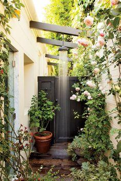 12 Inspiring Outdoor Shower Design Ideas Photos   Architectural Digest