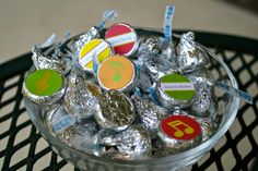Music Recital- Hershey Kiss Labels- print your own. $7.00, via Etsy.