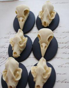 #animal #skull #cabochon