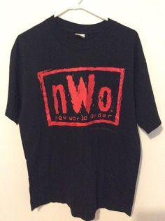 Wcw Nwo Wolfpack wrestling1998 Shirt Size Large - #wcw #wrestling #nwo