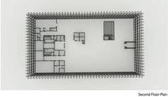 Hunt Library Addition: Second Floor Plan Draft #kerrianfrance #48105-S15