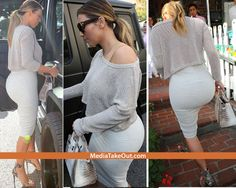 Kim Kardashian Shows Off Her NEWLY PURCHASED BUTT For The Second Day In A Row . . . And You Know What . . . Of All The BOOTYS SHE BOUGHT . . . This Is Prolly Our FAVORITE ONE!!! - MediaTakeOut.com™ 2014
