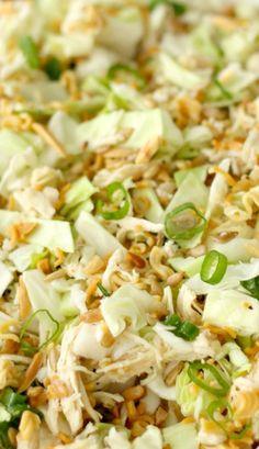 Ramen Noodle Oriental Chicken Salad