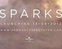 3rd World Spectator - Sparks (Music Video) by Peter Crafford, via Behance