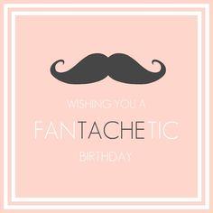 moustache birthday