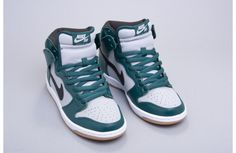 """See the Nike SB Dunk High """"Dark Atomic Teal"""" after the jump and pick up a pair now from Lost Art Shop"""