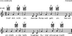 Dreh dich nicht um - Kinderlieder und Singspiele | Labbé Verlag
