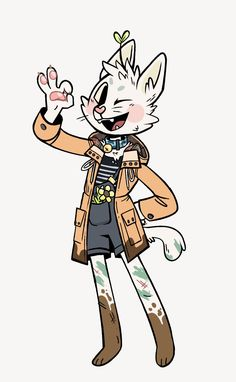 Cat Character, Character Design References, Character Drawing, Cute Art Styles, Cartoon Art Styles, Art And Illustration, Animal Drawings, Cute Drawings, Wolf Drawings