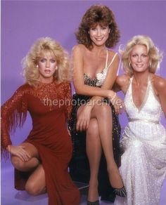 High Resolution DONNA MILLS KNOTS LANDING TV Embossed Photo Langdon HL1570