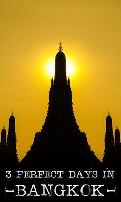 3 Days in Bangkok | Getting Stamped
