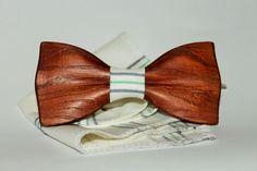 wooden bow tie, wooden bowtie, Groomsmen Bow Tie, Handmade tie, Classic clip-on. #Handmade #BowTie