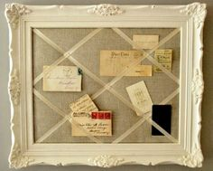 diy repurpose reuse old picture frame ideas
