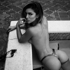 That look! That #Booty! Stunning @anllela_sagra!  By an @ohrangutang  #MustFollow #Model #Fit #fitnessmodel #FitChicks #beautiful #sexy #ass #gorgeous #Thong #MustSee