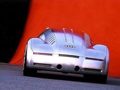 Audi Rosemeyer Concept (2000) - a concept car from KiTT NeT