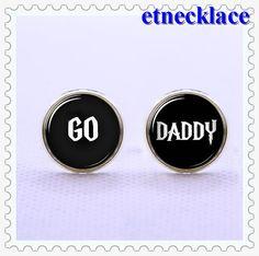 CufflinksGo Daddy Cufflinks  Mens Gift vintage  di etnecklace