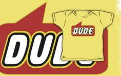 Dude T-shirt by Bubble-Tees.com by Bubble-Tees