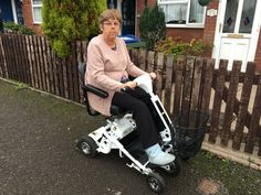 There are many ways to have a Quingo mobility scooter Mrs Eggington chose Contract Hire. How will you get yours? http://contact.quingoscooters.com/social-mobility-scooters
