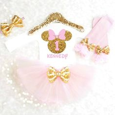 MINNIE MOUSE BIRTHDAY OUTFIT - ANY AGE